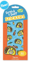 Tacos Scratch & Sniff Stickers *NEW!