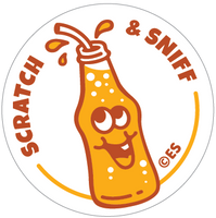 Orange Soda EverythingSmells Scratch & Sniff Stickers *NEW!