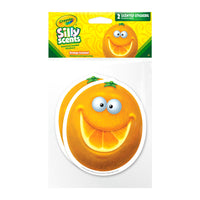 Jumbo Orange Crayola Silly Scents Scratch & Sniff Stickers