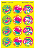 Party Palooza Scratch 'n Sniff Stinky Stickers (Frosting Scent) *NEW!