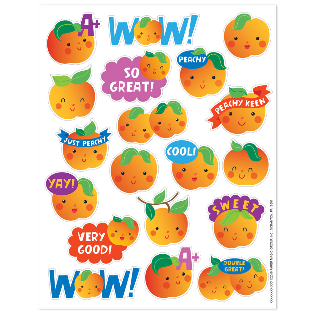 Peach Scented Stickers by Eureka *NEW!