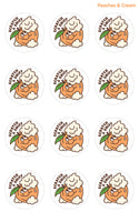 Peaches & Cream EverythingSmells Scratch & Sniff Stickers *NEW!