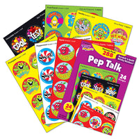 Pep Talk Scratch 'n Sniff Stinky Stickers Variety Pack (288 stickers)