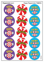 Peppy Peppermints Scratch 'n Sniff Stickers