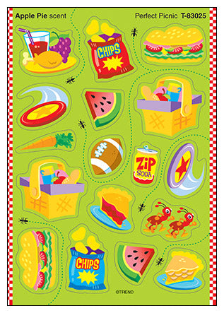 Perfect Picnic Scratch 'n Sniff Stinky Stickers (Apple Pie Scent)