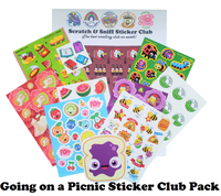 PICNIC Theme Sticker Club Pack *Limited-Edition!*