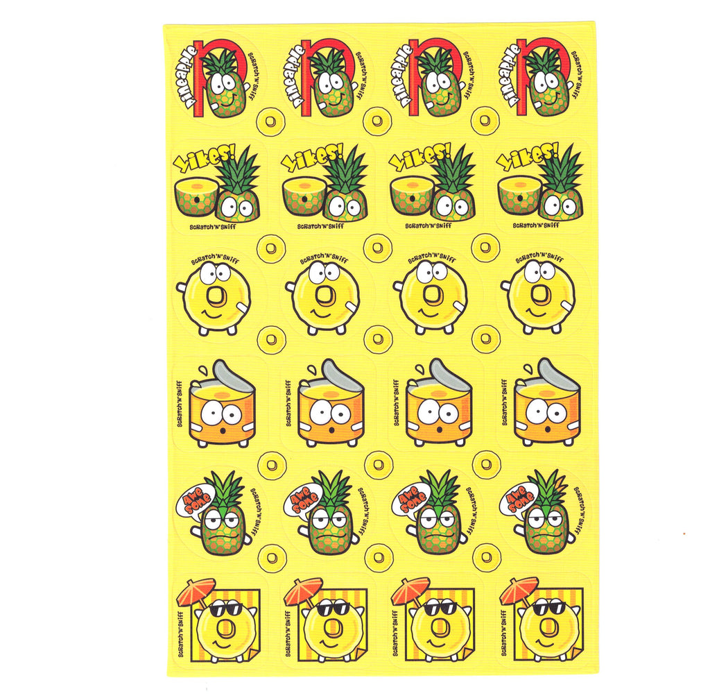 Pineapple Scratch 'n' Sniff Stickers for EverythingSmells *NEW!*