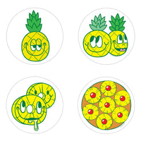 Pineapple Scratch n Sniff Stickers