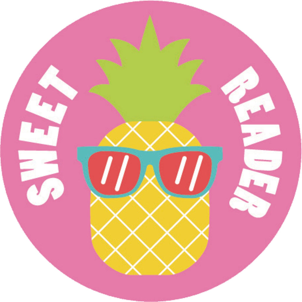 Sweet Reader Pineapple Scented Sticker Sheet *NEW!