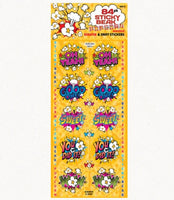Sticky Beak Comic Popcorn Scratch 'n' Sniff Stickers *NEW!