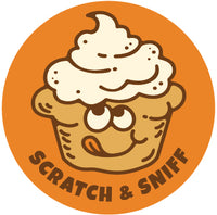 Pumpkin Cream Cheese Muffin EverythingSmells Scratch & Sniff Stickers *NEW!