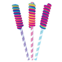 Scented Rainbow Twist Lollipop Eraser Pencil *NEW!