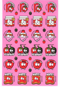 Raspberry Scratch 'n' Sniff Stickers *NEW!