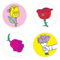 Rose Scratch n Sniff Stickers