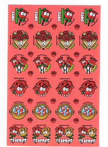 Rose Scratch 'n' Sniff Stickers *NEW!