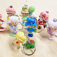 Vintage Strawberry Shortcake Keychains *EXCLUSIVE!*