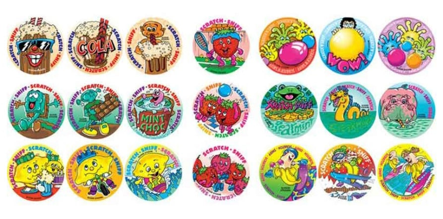 Scratch & Sniff Smelly Stickers Variety Pack *NEW!