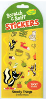 Smelly Things Scratch and Sniff Stickers