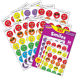 Smiles Scratch 'n Sniff Stinky Stickers Variety Pack (432 Stickers)