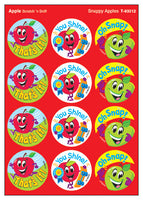 Snappy Apples Scratch 'n Sniff Stinky Stickers (Apple Scent)