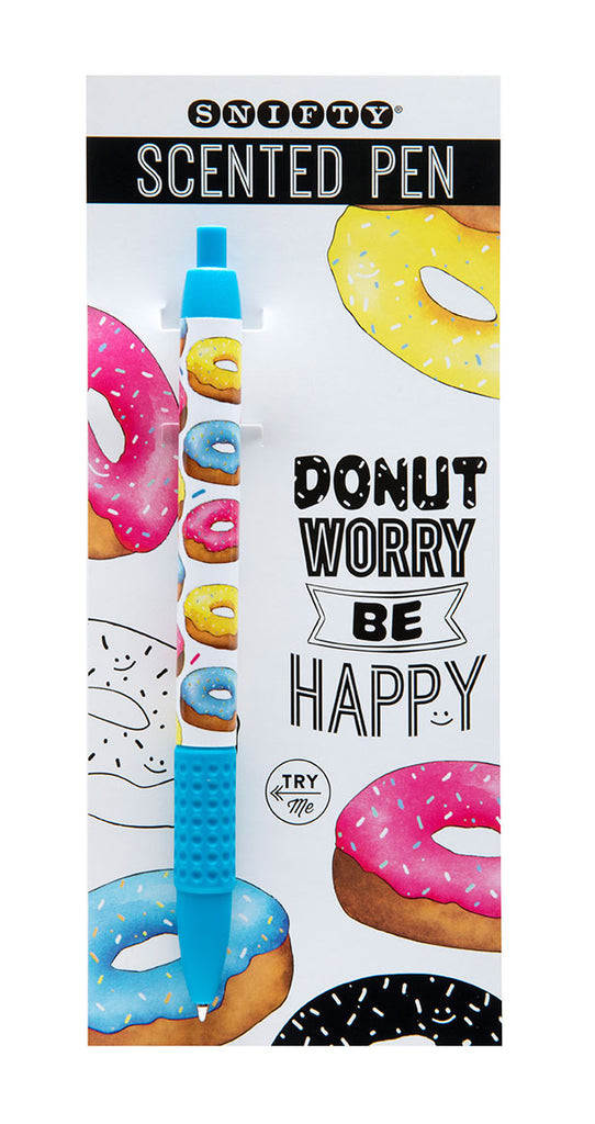Glazed Donut Scented Snifty Pen