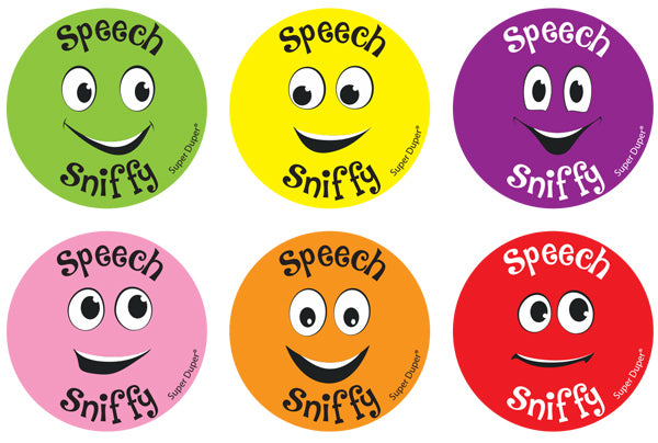 Speech Sniffys Scented Speech Stickers (10 sheets) *NEW!