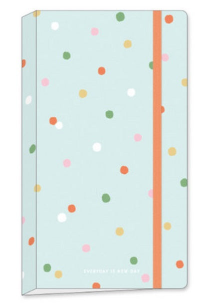 Sticker Organizer Folder - Polka Dots