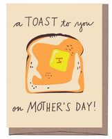 Mother's Day Toast Scratch & Sniff Greeting Card *NEW!