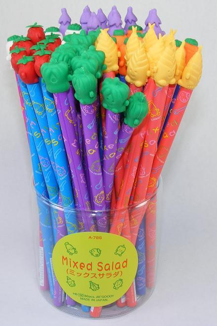 Vegetable Pencil with Topper (Unscented)