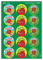 Amazing Apples Scratch 'n Sniff Stinky Stickers (Apple Scent)
