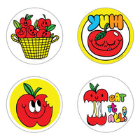 Apple Scratch n Sniff Stickers *NEW!