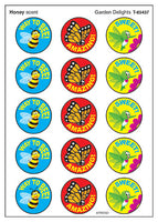 Garden Delights Scratch 'n Sniff Stinky Stickers (Honey Scent)