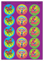 Beautiful Butterflies Scratch 'n Sniff Stinky Stickers (Vanilla Scent)