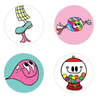 Bubble Gum Scratch n Sniff Stickers *NEW!