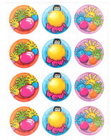 Bubble Gum Fuzzies Scratch & Sniff Smelly Stickers *NEW!