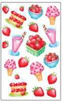 Strawberry Sweets Scratch and Sniff Stickers (35 stickers)