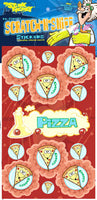 Pizza Dr. Stinky Scratch -N-Sniff Stickers (2 sheets)