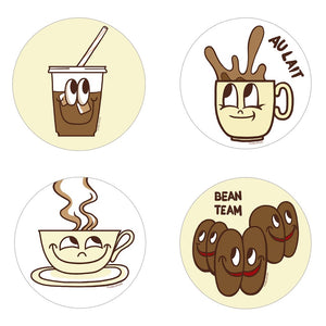 Coffee Scratch n Sniff Stickers *NEW!