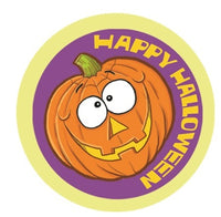 Spicy Pumpkin Dr. Stinky Scratch-N-Sniff Stickers