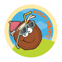 Coconut Dr. Stinky Scratch-N-Sniff Stickers