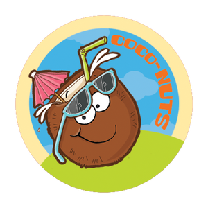 Coconut Dr. Stinky Scratch -N-Sniff Stickers (2 sheets)