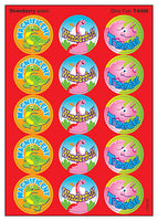 Dino Fun Scratch 'n Sniff Stinky Stickers (Strawberry Scent)