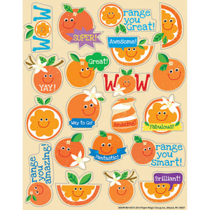 Orange Scented Stickers (80 stickers)
