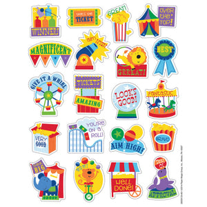 Popcorn Carnival Scented Stickers (80 stickers)