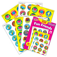 Fun Friends Scratch 'n Sniff Stinky Stickers Variety Pack (240 stickers)