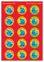 Seal of Approval Scratch 'n Sniff Stinky Stickers (Caramel Corn Scent)
