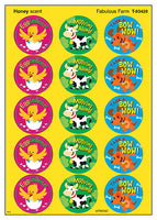 Fabulous Farm Scratch 'n Sniff Stinky Stickers (Honey Scent)