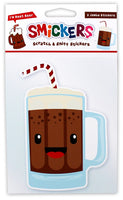 Jumbo Root Beer Scented Smickers Scratch & Sniff Stickers