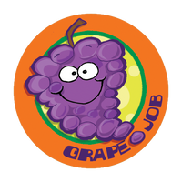 Grape Dr. Stinky Scratch-N-Sniff Stickers