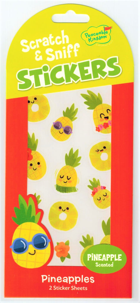 Pineapple Scratch & Sniff Stickers